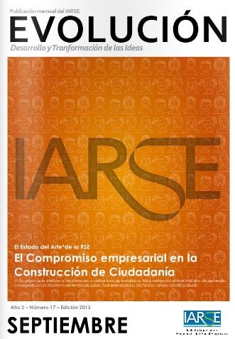 """Cefeidas Group publica en """"Evolución"""" la revista del Instituto Argentino de Responsabilidad Social Empresaria"""