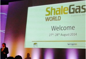 Cefeidas' Managing Director spoke at the Shale Gas World Argentina 2014