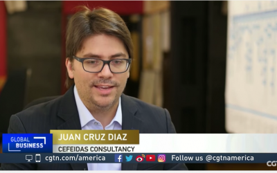 Cefeidas Group's Managing Director interviewed by CGTN America on labor disputes in Argentina
