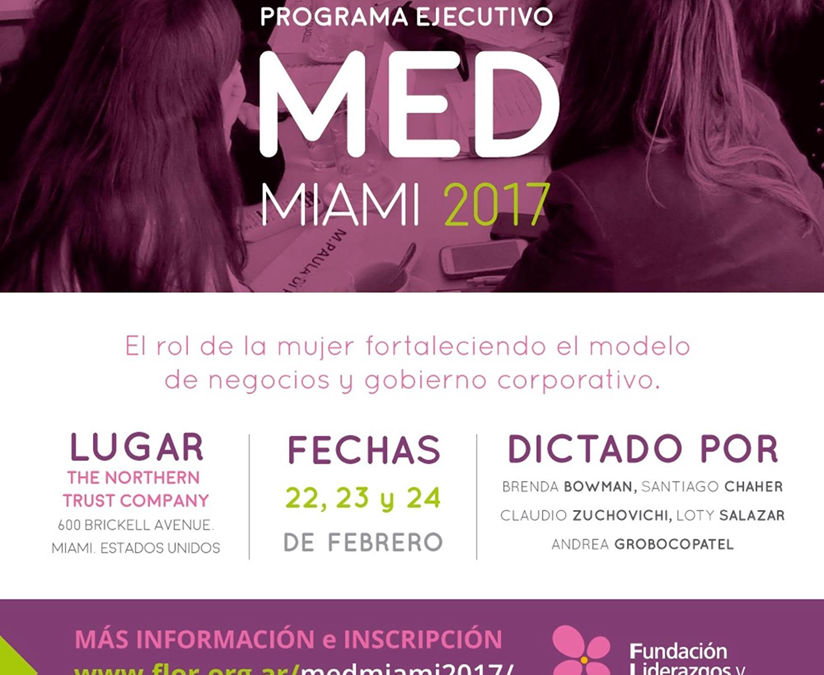Managing director of Cefeidas Group facilitates Miami edition Fundación FLOR professional development seminar