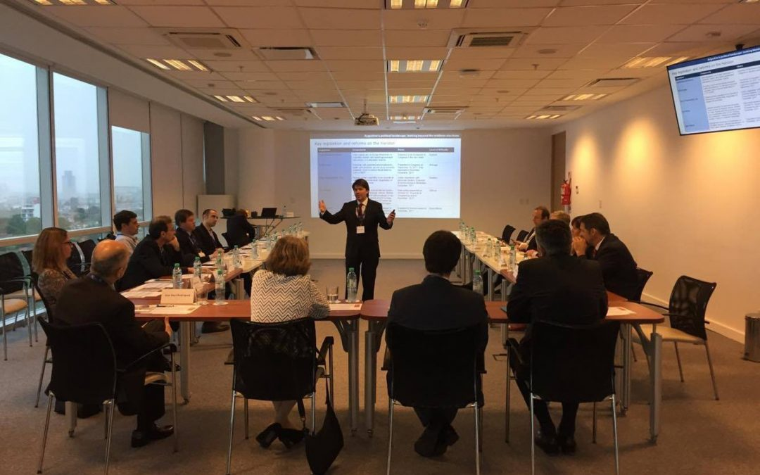 Managing director of Cefeidas Group presents at the Danish Business Club