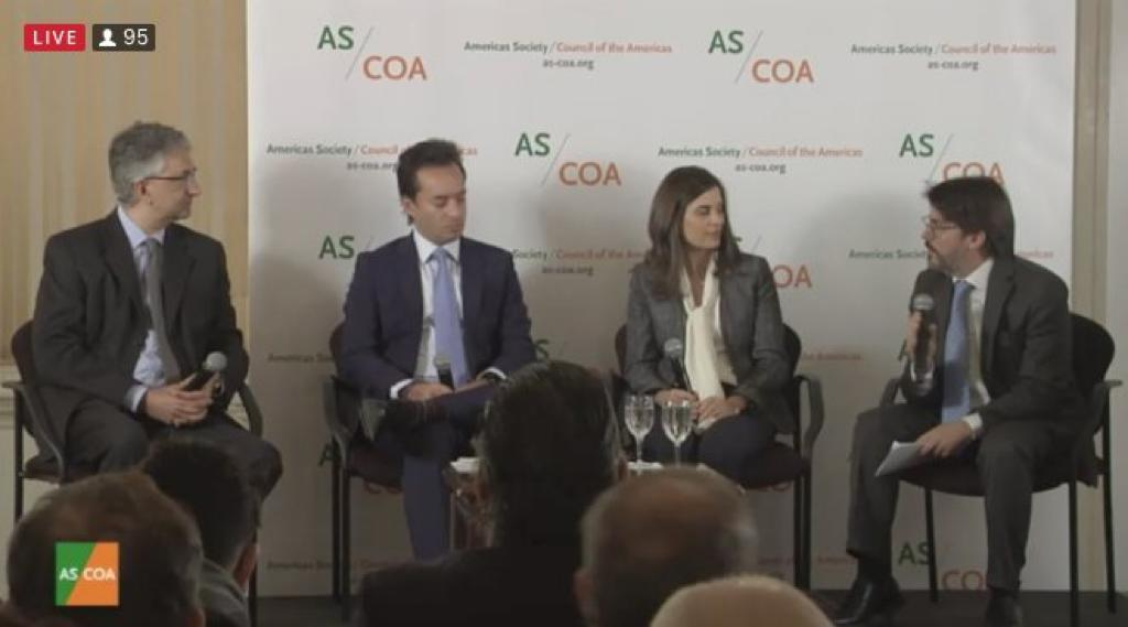 Managing Director of Cefeidas Group moderates panel discussion at AS/COA