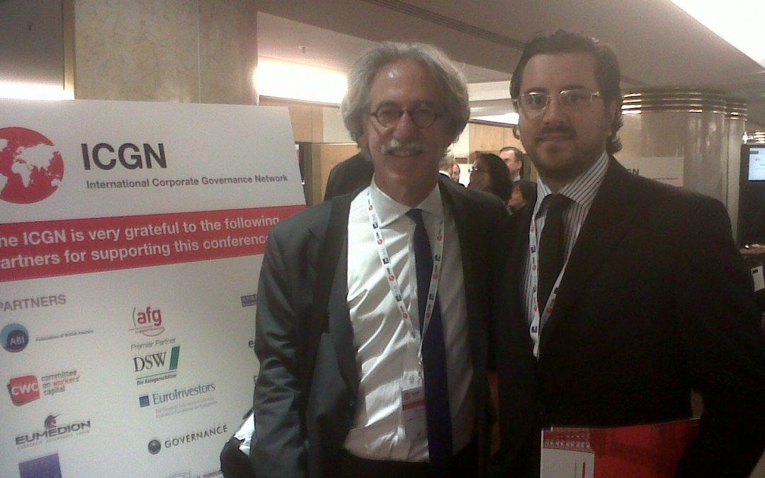 Cefeidas' Managing Director speaks at the International Corporate Governance Network 2011 General Meeting in Paris