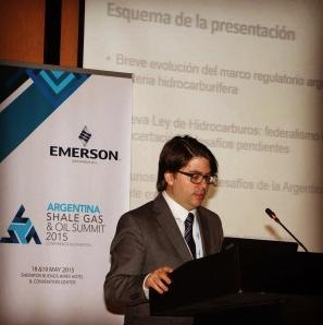 Managing Director de Cefeidas Group en la Argentina Shale Gas & Oil Summit (A-SGOS 2015)