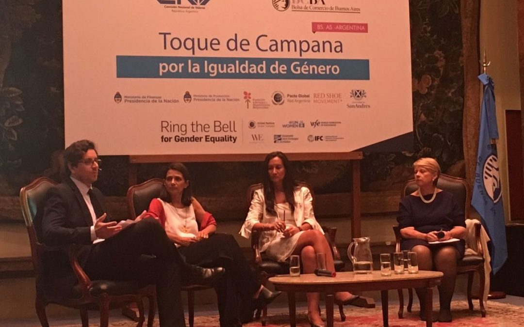 Cefeidas Group's Managing Director moderates panel in support of gender equality