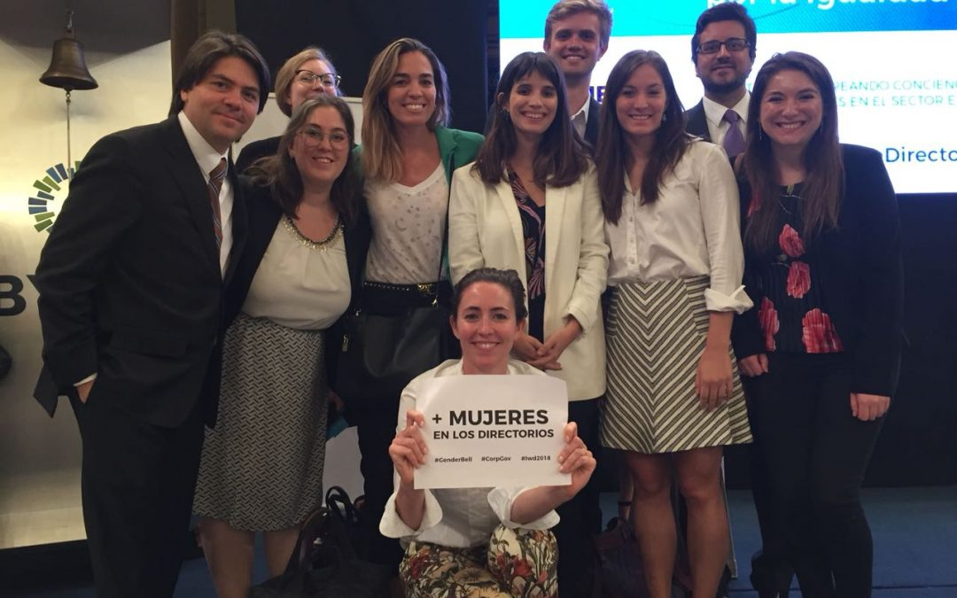 Cefeidas Group participates in Ring the Bell For Gender Equality