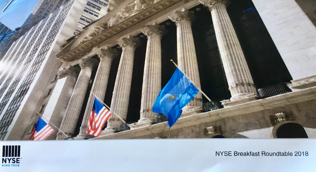 Juan Cruz Díaz of Cefeidas Group presented at New York Stock Exchange Roundtable in Buenos Aires