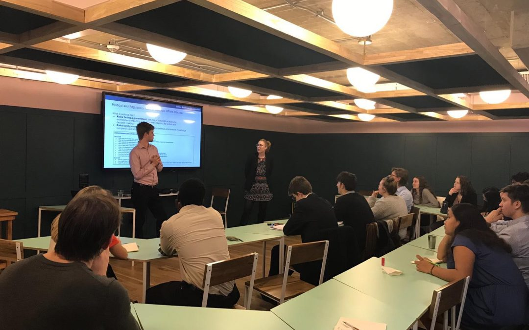 Cefeidas Group Specialists hold seminar on doing business in Argentina with visiting New Zealand students